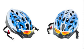 Bicycle Helmet. Isolated on white background Stock Images