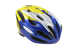 Bicycle helmet isolated Stock Photography