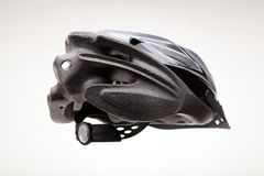 Bicycle Helmet Rear View Royalty Free Stock Photo