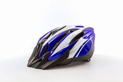 Bicycle helmet for safe driving. Royalty Free Stock Photo