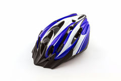 Bicycle helmet for safe driving. Royalty Free Stock Images
