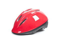 Bicycle Helmets Stock Photos