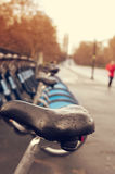 Bicycle hire in Hyde Park in London Royalty Free Stock Photo