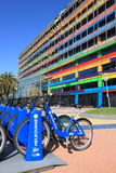 Bicycle hire Melbourne Australia Stock Photography