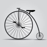 Bicycle historic eps10 Stock Photography