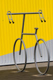 Bicycle holder for two Stock Photo