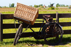 The bicycle in Holland Stock Photography