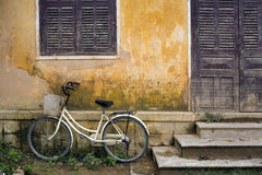 Bicycle and House Vietnam Stock Photos