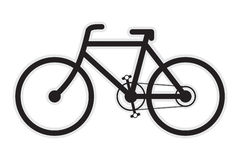 Bicycle Icon Royalty Free Stock Photo