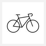 Bicycle icon royalty free illustration