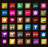 Bicycle icon Royalty Free Stock Photos