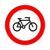 Bicycle icon great for any use. Vector EPS10. Stock Photography