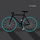 Bicycle icon great for any use. Vector EPS10. Stock Photo