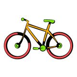 Bicycle icon, icon cartoon. Bicycle icon in icon in cartoon style isolated vector illustration stock illustration