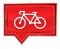 Bicycle icon misty rose pink banner button royalty free illustration