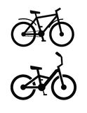 Bicycle icon Royalty Free Stock Images