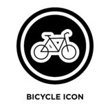 Bicycle icon vector isolated on white background, logo concept o vector illustration