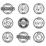 Bicycle icons Royalty Free Stock Image