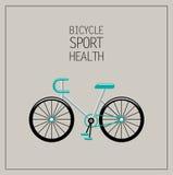 Bicycle illustration Stock Photo