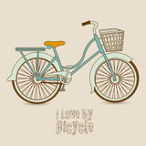 Bicycle  Illustration Royalty Free Stock Photography