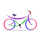 Bicycle. Illustration of bicycle vector design Royalty Free Stock Image