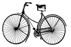 Bicycle. Royalty Free Stock Image
