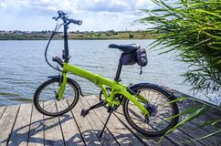Free Bicycle In The Nature Has A Rest In The Summer Royalty Free Stock Photography - 174675917