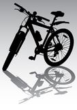 Bicycle In The Parking Royalty Free Stock Photography
