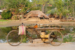 The bicycle in India Stock Photo