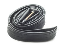 Bicycle inner tube Stock Photos