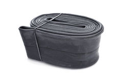 Bicycle inner tube Stock Image