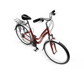 Bicycle isolated over white Stock Photo