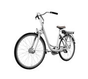 Bicycle Isolated. On white background. 3D render Stock Image