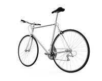 Bicycle Isolated. On white background. 3D render Stock Photography