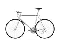 Bicycle Isolated Stock Image