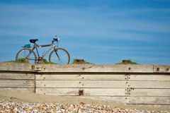 Bicycle journey Stock Photos