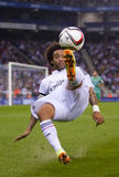 Bicycle kick of Marcelo Stock Photos