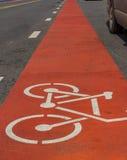 Bicycle lane Stock Images