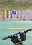 Bicycle lane sign Stock Image