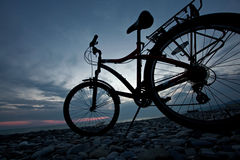 Bicycle life Stock Photography