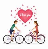 Bicycle lifestyle design Stock Photo
