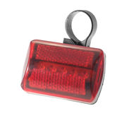 Bicycle light signal. Stock Image