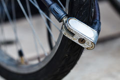 Bicycle lock Royalty Free Stock Photography
