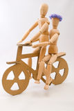 Bicycle love Stock Photo