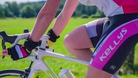 Bicycle marathon competition around Vrhnika