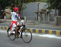 Bicycle marathon Royalty Free Stock Image