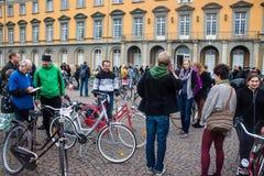 Bicycle market Royalty Free Stock Photos