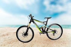Bicycle. Mountain bike isolated wheel tire sport single object royalty free stock image