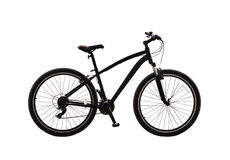 Bicycle. Or mountain bike isolated on white background Stock Photos