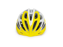 Bicycle mountain bike safety helmet isolated Royalty Free Stock Photography